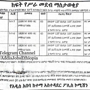 147 Driver Jobs in Addis Ababa and More